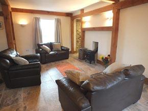 glebe house living-room